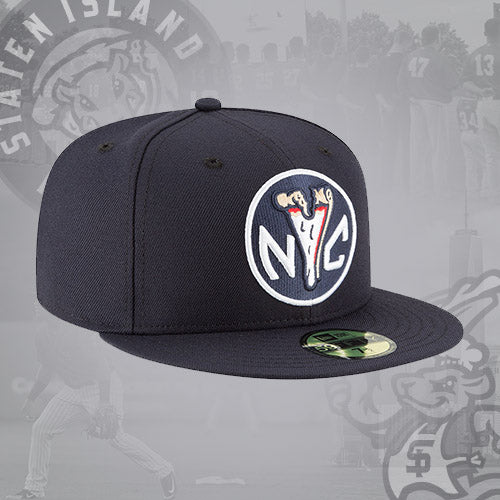 Staten Island Pizza Rats New Era NYC Token 59FIFTY Fitted Cap