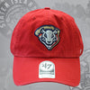 Staten Island Pizza Rats '47 Brand Red Rat Head Adjustable Cap