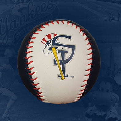 Staten Island Yankees Top Hat Logo Baseball