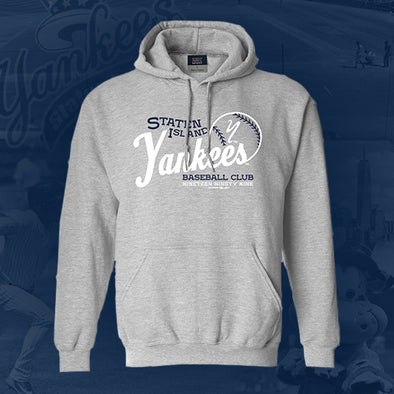 Staten Island Yankees MV Sport Heather Grey Pullover Hoodie