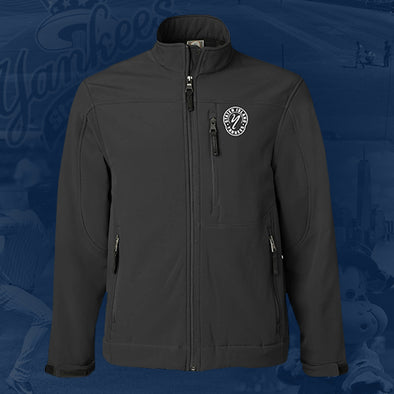 Staten Island Yankees MV Sport Black Men's Weatherproof Logo Jacket