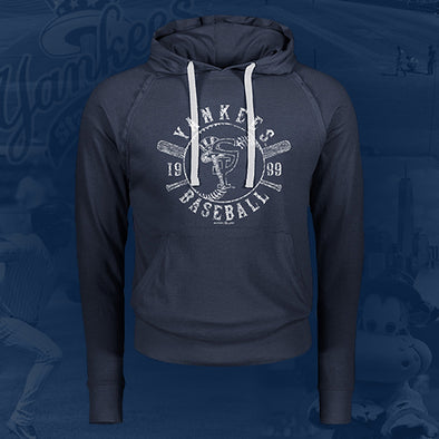 Staten Island Yankees MV Sport Heather Navy Pullover Hoodie