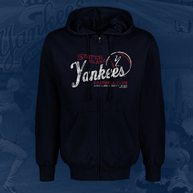 Staten Island Yankees MV Sport Navy Full Zip Hoodie