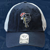 Staten Island Yankees '47 Brand Stretch Fit SIY Top Hat Logo Hat
