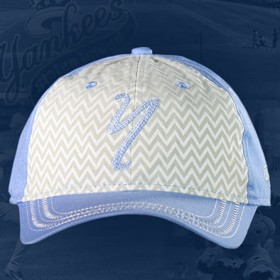 Staten Island Yankees Cap Youth White/Blue Home Logo