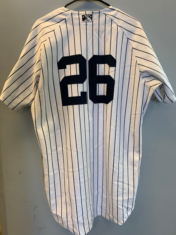 Staten Island Yankees Game Used Home Jersey #26 (Size 46) with George M. Steinbrenner Patch