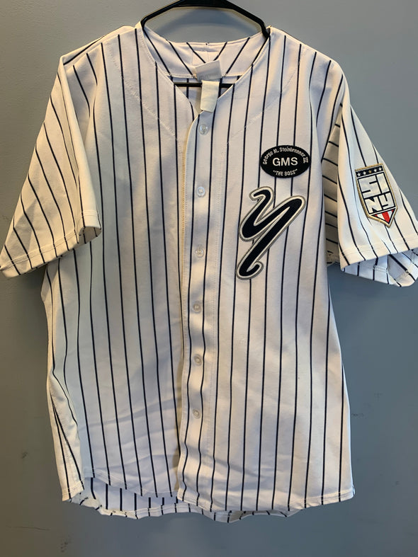 Staten Island Yankees Game Used Home Jersey #20 (Size 44) with George M. Steinbrenner Patch