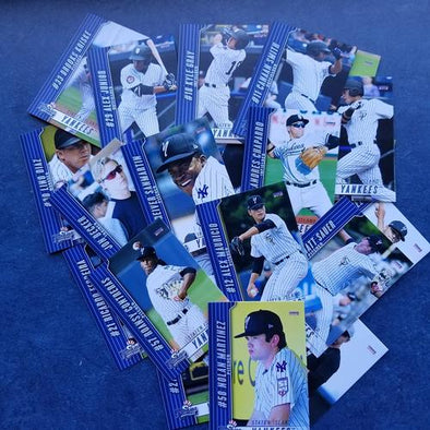 Staten Island Yankees 2018 Team Card Set