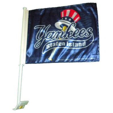 Staten Island Yankees Car Window Flag