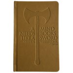 "Game of Thrones - ""A Mind Needs Books"" Leatherette Notebook"