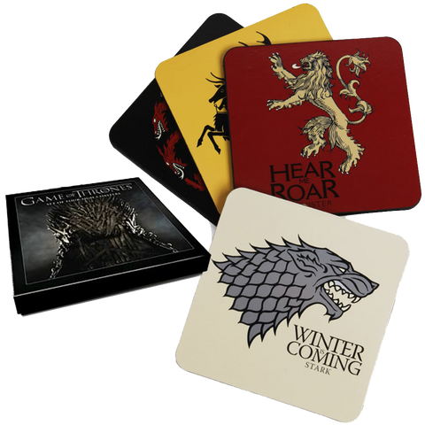Game of Thrones - Cork Back Coaster Set