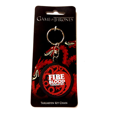 Game of Thrones - Fire & Blood Targaryen - Keychain