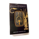 Game of Thrones - Greyjoy Shield - Pin