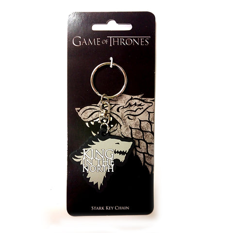 Game of Thrones - King in the North Stark - Keychain