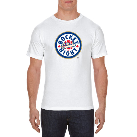 Hockey Night in Canada - Men's T-Shirt with Logo