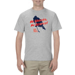 Hockey Night in Canada - Men's T-Shirt  - He Shoots He Scores Heather Grey