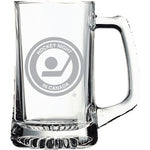 Hockey Night in Canada Glass Stein with Retro Logo
