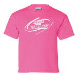 Battle of the Blades - Kids Short Sleeve - Pink