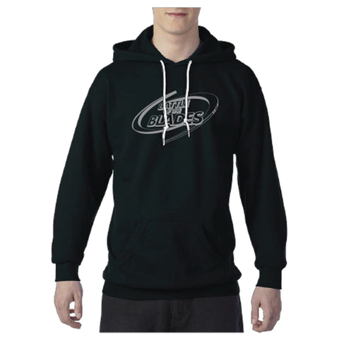 Battle of the Blades - Men's Hoodie - Black