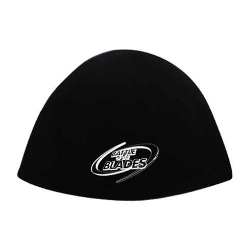 Battle of the Blades Polar Fleece Cap - Black
