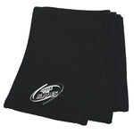 Battle of the Blades Polar Fleece Scarf - Black