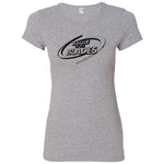 Battle of the Blades - Women's Fitted T-Shirt - Grey