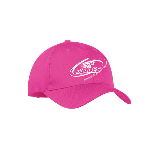 Battle of the Blades Youth Cap - Tropical Pink