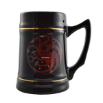 Game of Thrones - Targaryen Black Ceramic Stein