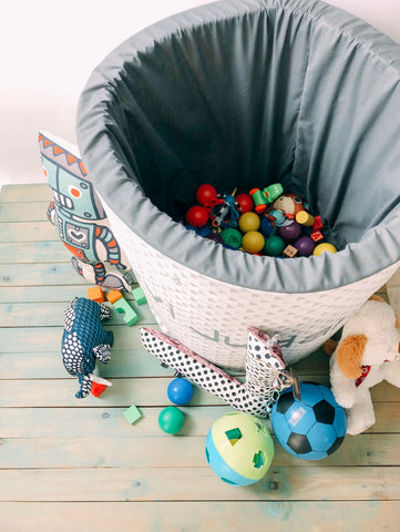 Toy storage containers