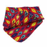 Bandanna Bib - Red only, Animal print