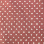 Printed Crib Sheets Fitted Dots - Large - 1300 x 660 x 140mm
