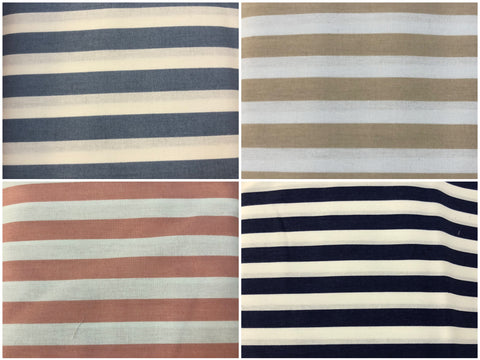 Printed Crib Sheets Fitted - Stripes - Small - 900 x 480 x 140mm