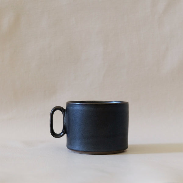 Ozu Ceramic Graphite Coffee Cup