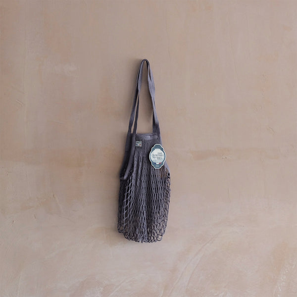 French Market Bag Dark Grey