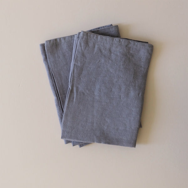 Linen Standard Pillowcase Ash