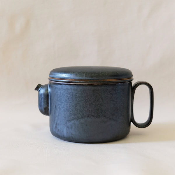 Ozu Ceramic Graphite Tea & Coffee Pot