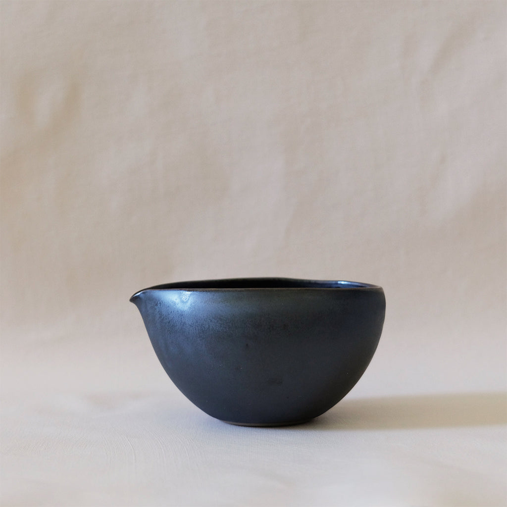 Ozu Ceramic Graphite Sugar Cup