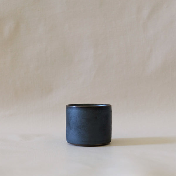 Ozu Ceramic Graphite Tea Cup