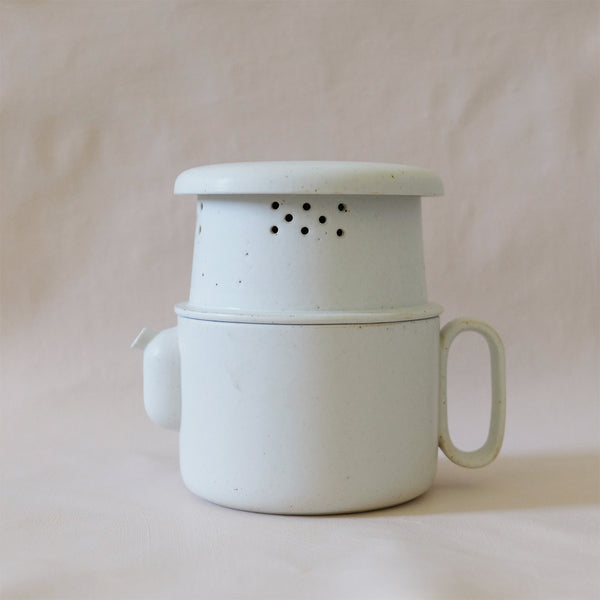 Ozu Ceramic Salt Tea & Coffee Pot