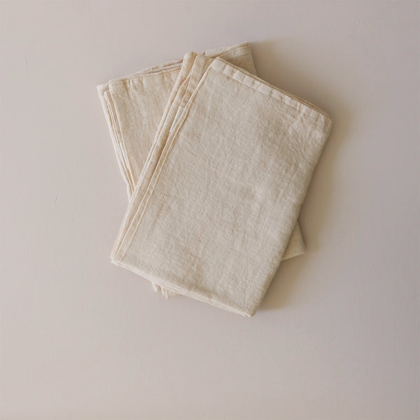 Linen Pillowcase Shifting Sand