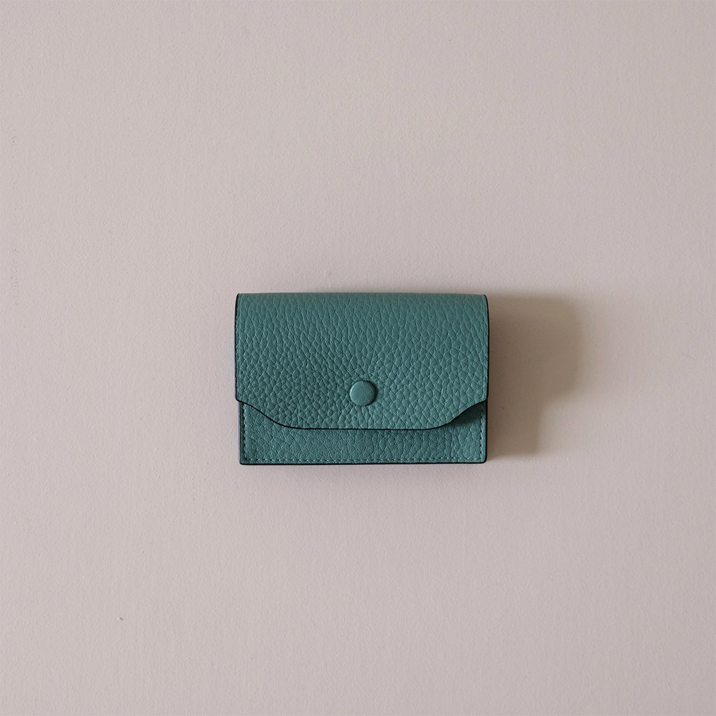 Billy Card Case Celadon