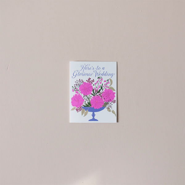 Glorious Wedding Note Card