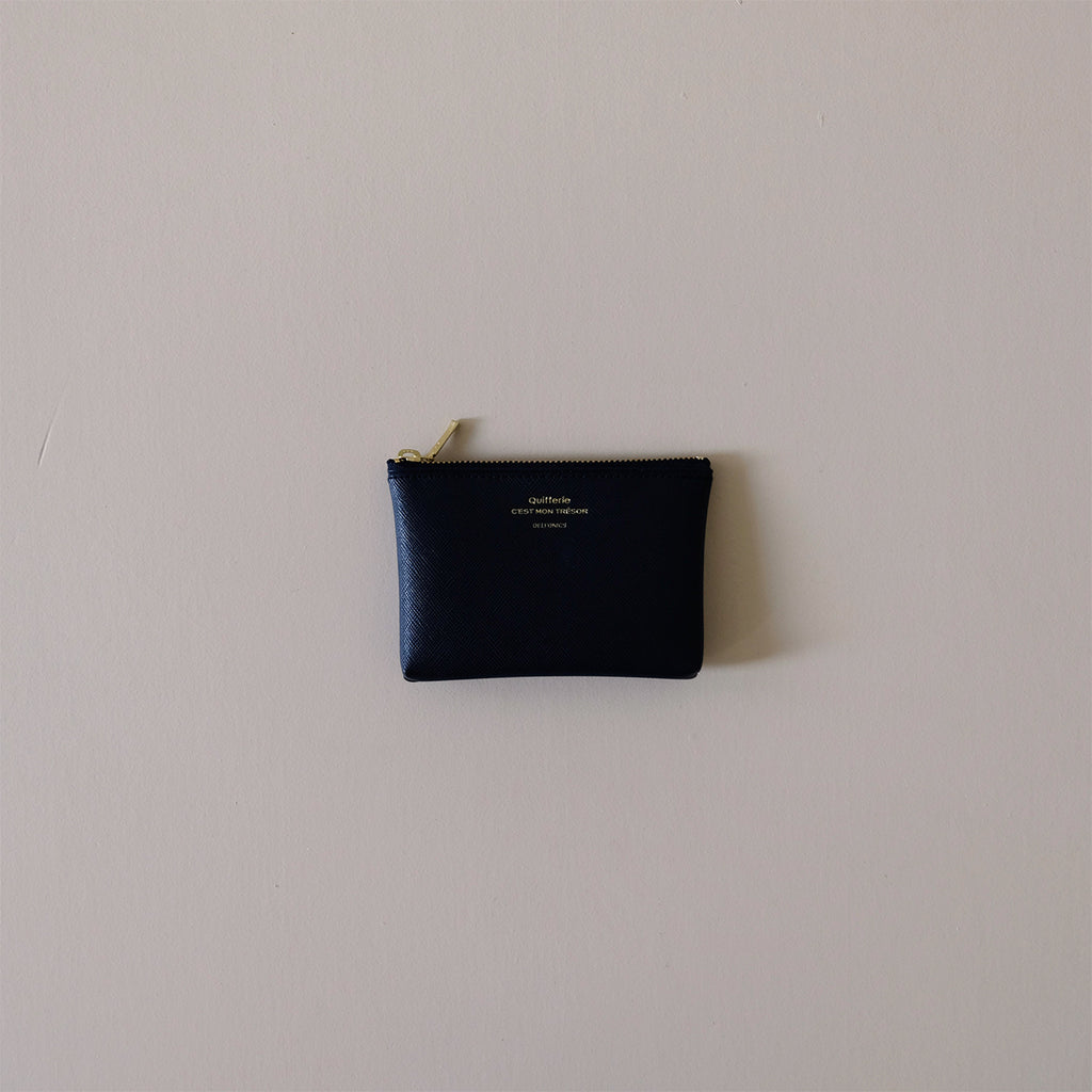 Quitterie Pouch Small Dark Blue