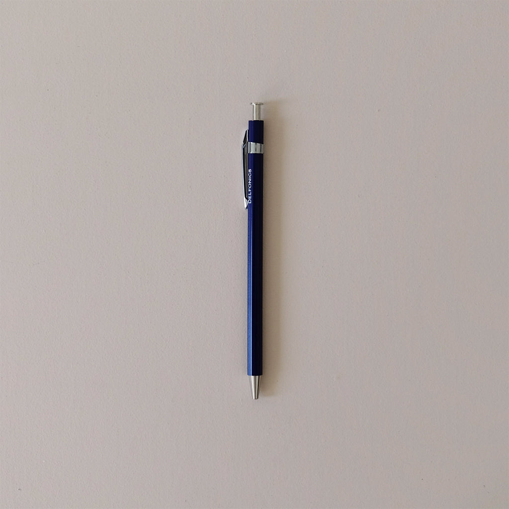 Wood Ball Pen Dark Blue