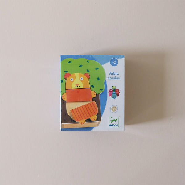Wooden Puzzle Bear & Tree