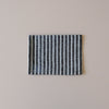 Linen Kitchen Towel Navy & White Stripe