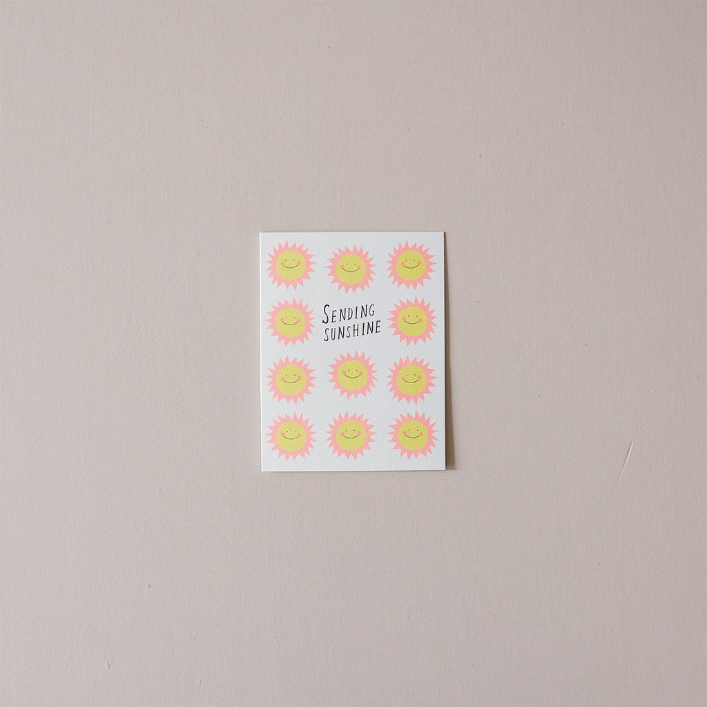 Sending Sunshine Note Card