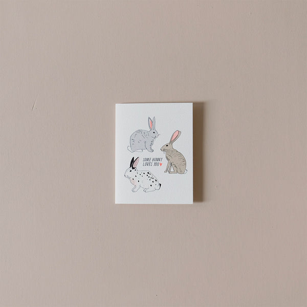 Some Bunny Loves You Note Card