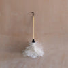 Cream Feather Duster Large