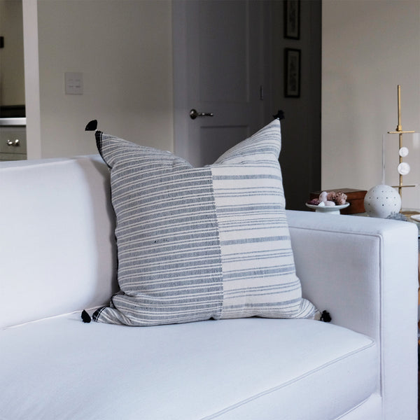 Thin Black Stripe Pillow